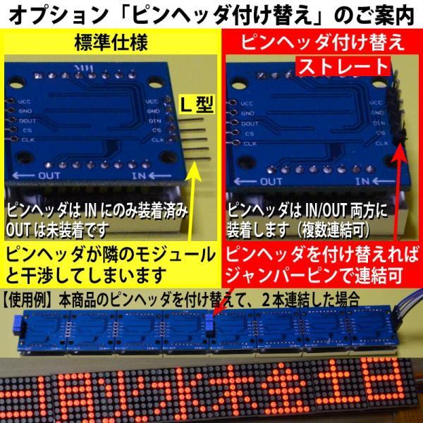 新幹線のアレみたいに… Raspberry Piで作る小型電光掲示板(8X32 ドットマトリクスLED)初心者向け説明書、サポート付 日本語表示もサポート|solinnovay|06