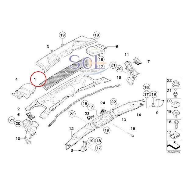 BMW E82 E87 E88 E84 X1 E90 E91 E92 E93 エアコンフィルター(活性炭入り) 116i 118i 120i 130i 135i 320i 323i 325i 335i 64319142115 solltd 02