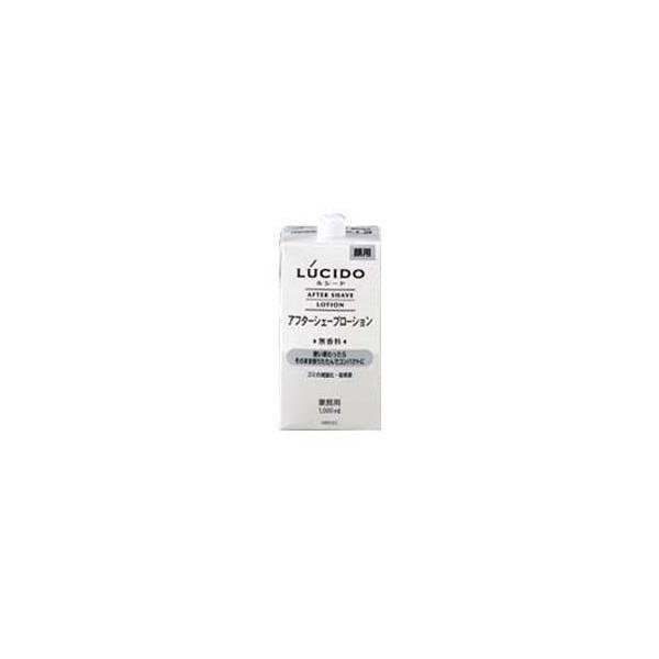 マンダム LUCIDO ルシード(無香料) アフターシェーブローション(詰替用1L)