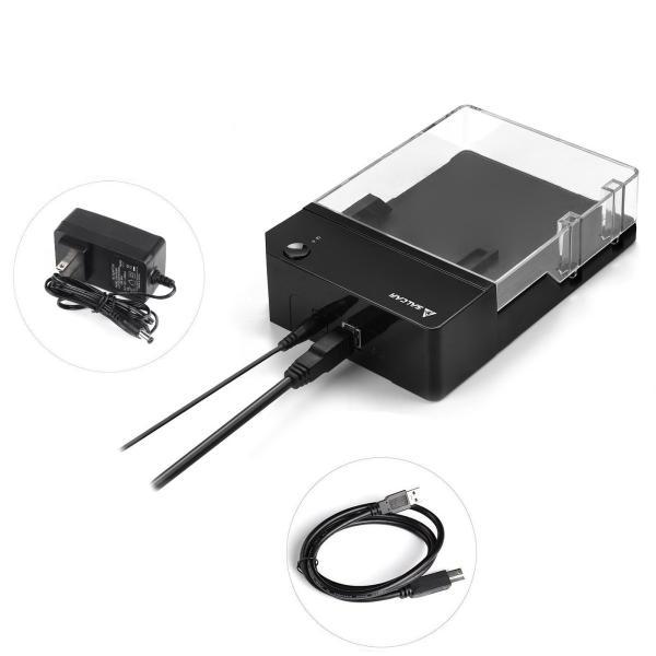 Salcar 高速USB3.0 3.5インチ 外付け HDD/SSD ケース UASP高速転送 SATAI/II/III対応 6TB 高放熱 sonanoa 06