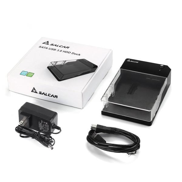 Salcar 高速USB3.0 3.5インチ 外付け HDD/SSD ケース UASP高速転送 SATAI/II/III対応 6TB 高放熱 sonanoa 08