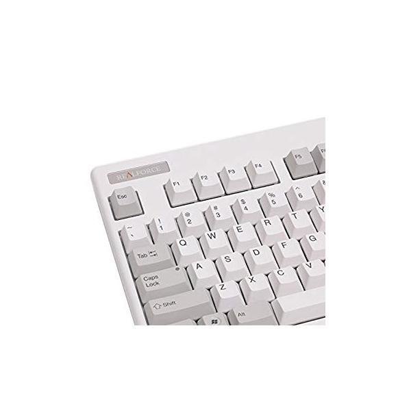 送料無料 Realforce 87U Tenkeyless 55g (White/Gray) sonanoa 02