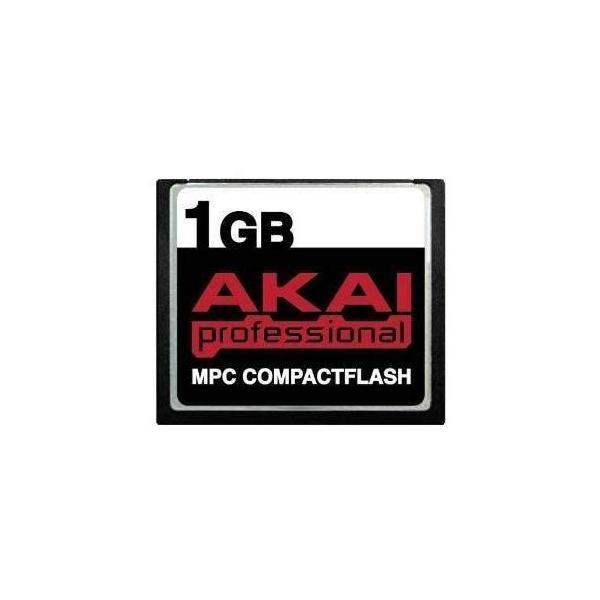 送料無料 1GB Akai MPC CompactFlash CF Memory Card for MPC500, MPC1000, MPC2500,