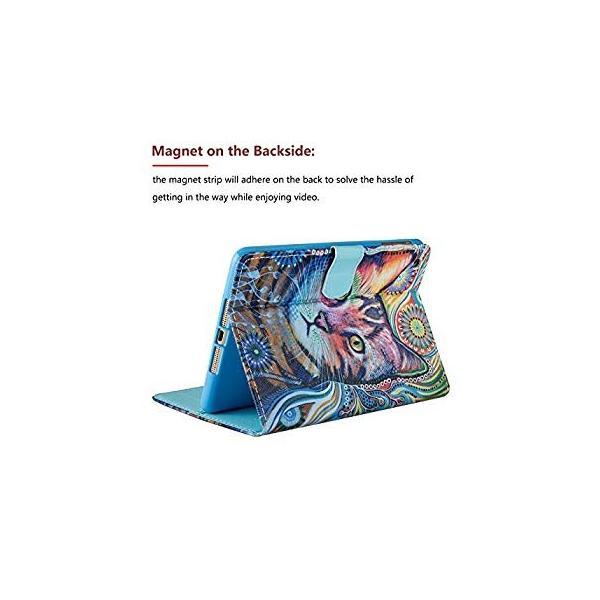 送料無料 iPad Mini Case - LittleMax(TM) Synthetic Leather Auto Wake/Sleep Stand|sonanoa|03