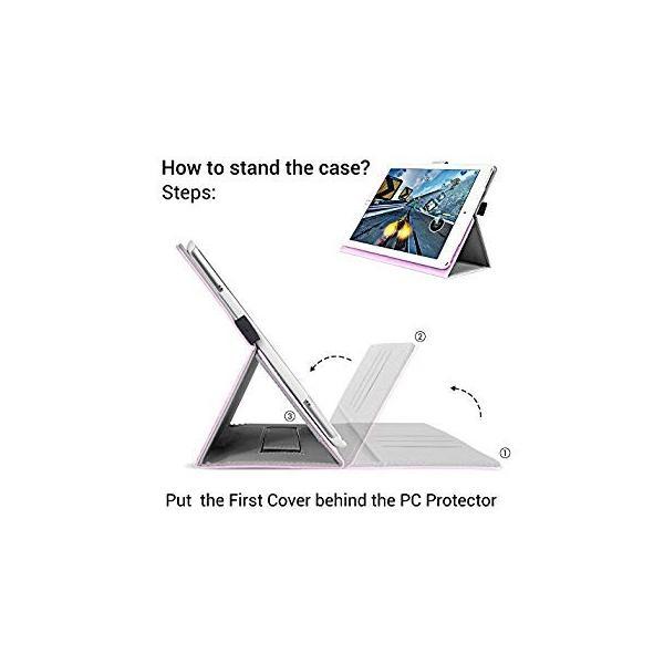 送料無料 iPad Pro 9.7 Inch Case, Cambond Slim Fit Auto Sleep/Wake Flip Case Cov|sonanoa|06
