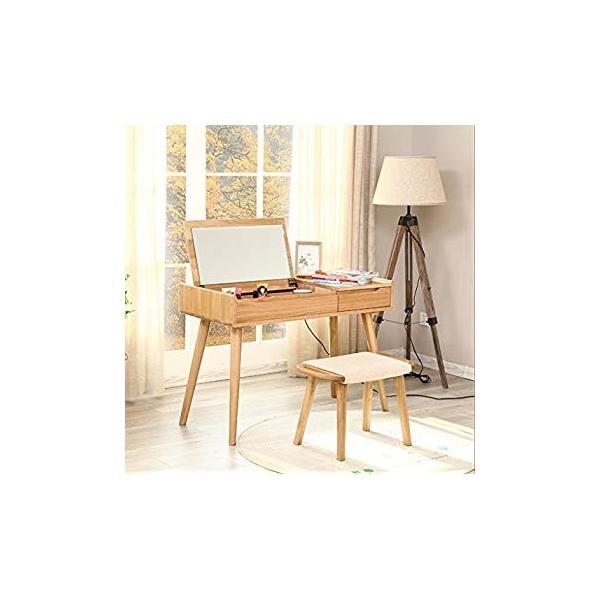 送料無料 ye Solid Wood Dressing Stool Oak Furniture Small Apartment Makeup Stoo|sonanoa|03