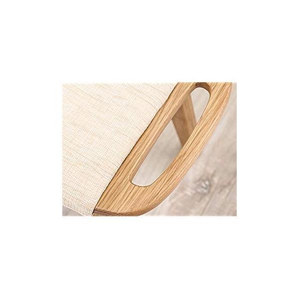 送料無料 ye Solid Wood Dressing Stool Oak Furniture Small Apartment Makeup Stoo|sonanoa|05