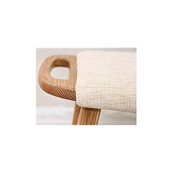 送料無料 ye Solid Wood Dressing Stool Oak Furniture Small Apartment Makeup Stoo|sonanoa|07