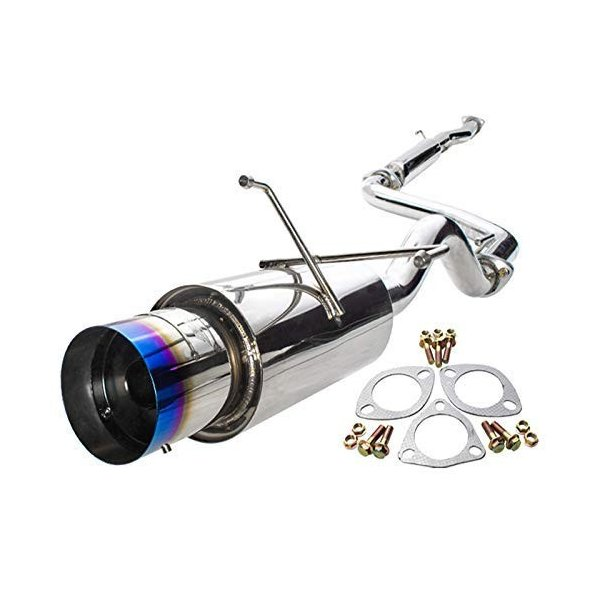 2.5 Piping Catback Exhaust System With 4.5 N1 Burn Tip For Acura Integra Ls Rs Gs