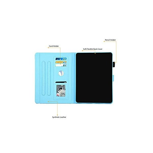 送料無料 Dteck iPad Pro 11 Inch Case with Stylus Pen, Pretty Cute Flip Folio Sm sonanoa