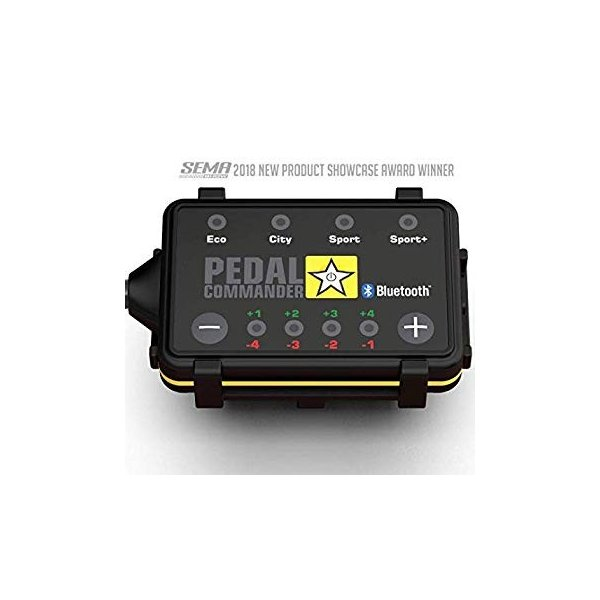 Pedal Commander Throttle Response Controller PC55 Bluetooth for Toyota Camry 2012 and newer Fits All Trim Levels; L, LE, SE, XLE, XSE
