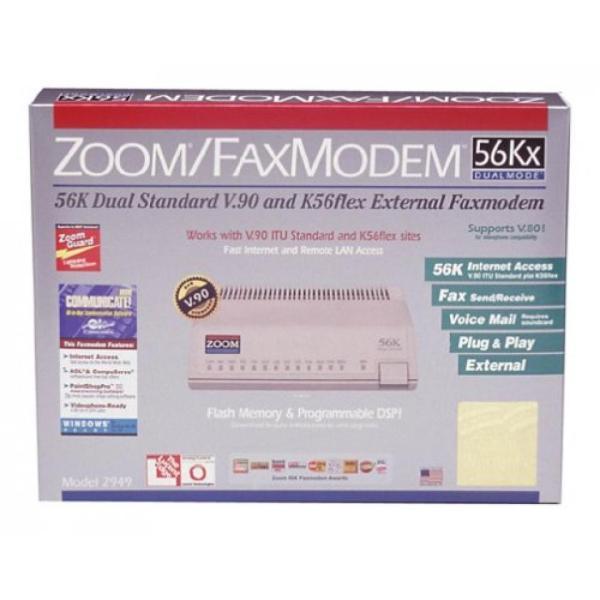 モデム Zoom 2949-00-00L 56K14.4K V90 Dual Mode RJ11 FaxModem|sonicmarin|02