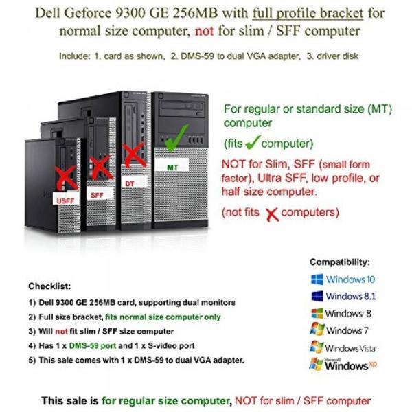 グラフィックカード グラボ GPU Epic IT Service - Dell 9300 GE
