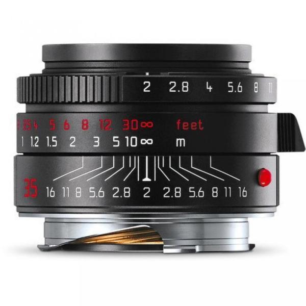 ライカ カメラ Leica SUMMICRON-M 35mm F2 ASPH. 11689 .Black Chrome Edition ,Rare sonicmarin