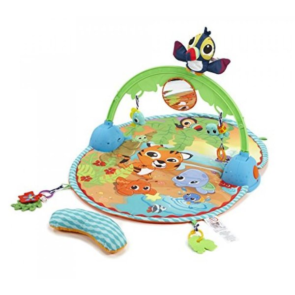 幼児用おもちゃ Little Tikes Baby - Good Vibrations Deluxe Activity Gym - with Bag|sonicmarin