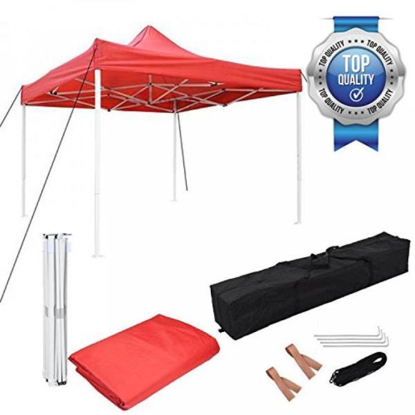 テント New Leaf 10x10 Easy Pop Up Tent Instant Shelter (Red) sonicmarin