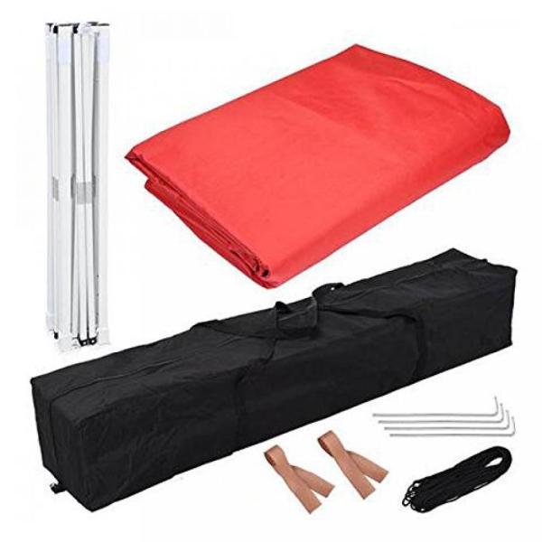 テント New Leaf 10x10 Easy Pop Up Tent Instant Shelter (Red) sonicmarin 04