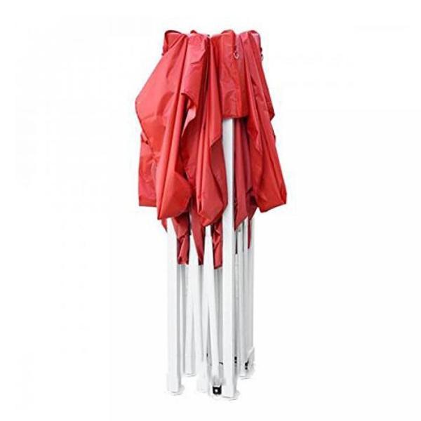 テント New Leaf 10x10 Easy Pop Up Tent Instant Shelter (Red) sonicmarin 06