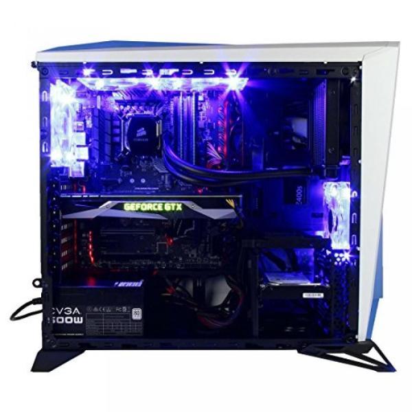 PC パソコン CUK Trion VR Ready Gaming PC (i7-7700K, 16GB RAM, 256GB PCIe x4 SSD + 1TB HDD, NVIDIA GTX 1080 8GB, Windows 10) Best New Virtual Reality|sonicmarin|03