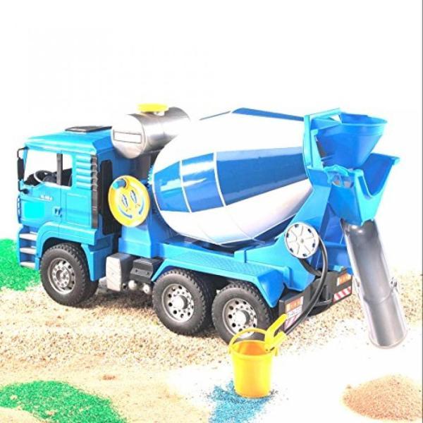 幼児用おもちゃ Kids Car Toy Truck Vehicle MAN Cement Mixer With Realistic Turning Mixing Barrel Water Tank Adjustable - Skroutz sonicmarin 03
