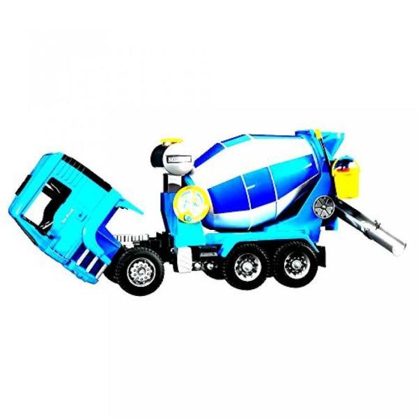 幼児用おもちゃ Kids Car Toy Truck Vehicle MAN Cement Mixer With Realistic Turning Mixing Barrel Water Tank Adjustable - Skroutz sonicmarin 04