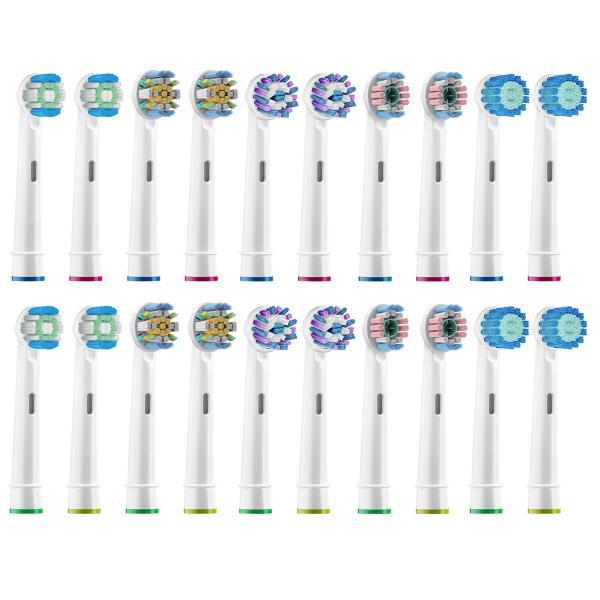 ブラウン オーラルB 替えブラシ Braun Oral-B 電動歯ブラシ 対応 20本入 ソニマート 互換替えブラシ