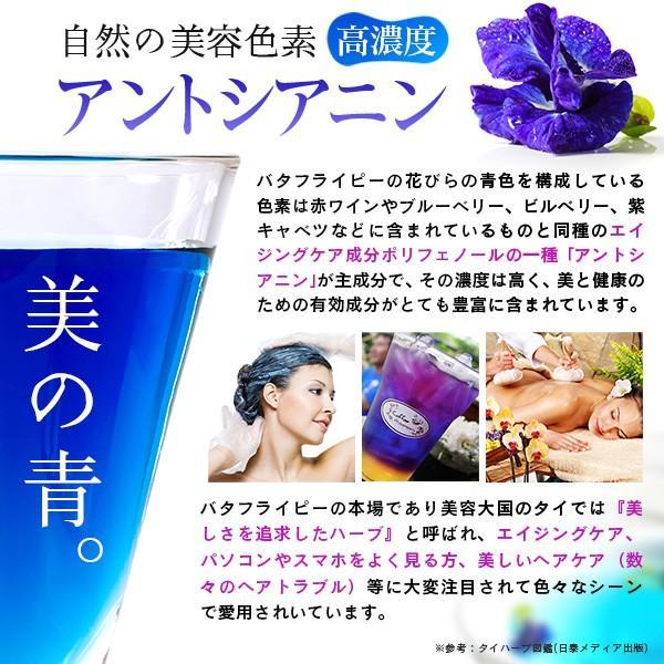 青いお茶 バタフライピー 2袋セット ブルーハーブティー|sonique|06