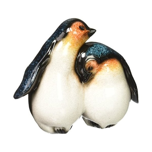 StealStreet ss-ug-yxc-928、5インチBaby Penguinsだっこwith each other Figurine表示