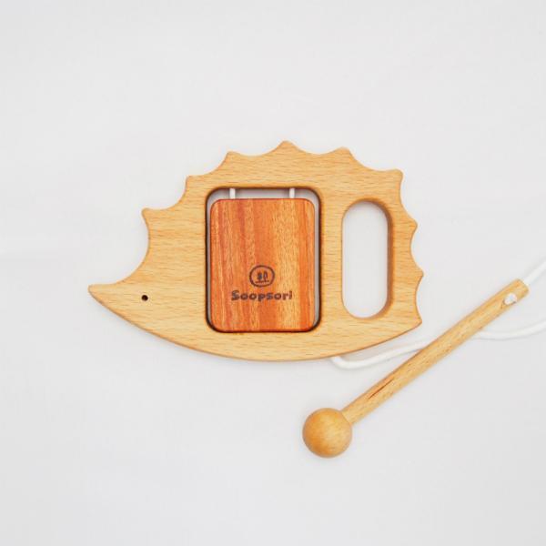 木のおもちゃ 赤ちゃん  幼児楽器おもちゃ3個セット  ベビー  1歳 2歳 知育玩具 リズム遊び 音の鳴るおもちゃ 誕生日 ギフト スプソリ|soopsori|09
