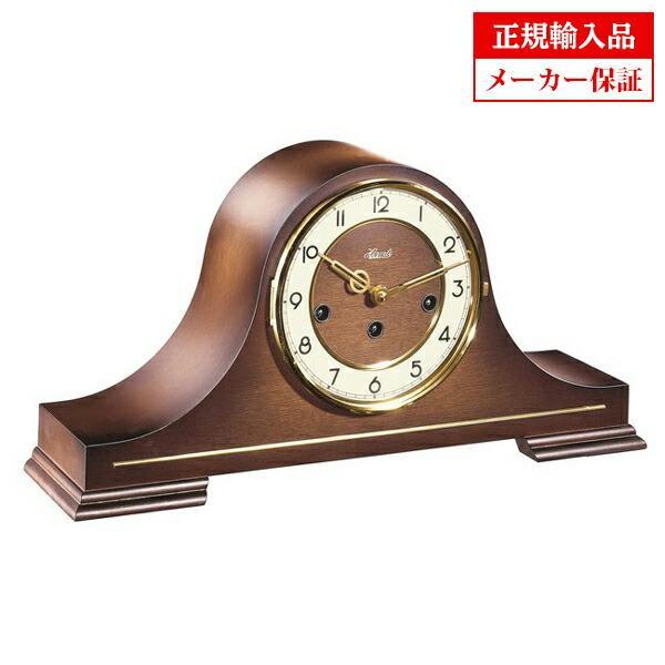 ドイツ ヘルムレ HERMLE 21092-030340 機械式置時計 ウォルナット  送料区分大