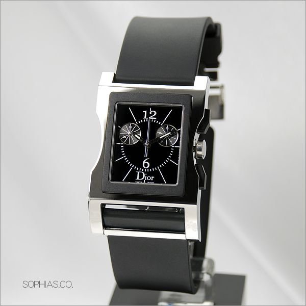 brand new 90e76 b572f クリスチャン・ディオール Christian 034313A001 Dior クロノ ...