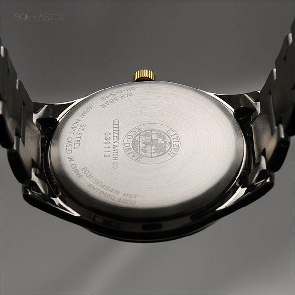 ペアウォッチ シチズン FRB59-2452/FRB36-2452 CITIZEN シチズンコレクション エコ・ドライブ ゴールドインデックス ペア腕時計 (長期保証8年付)