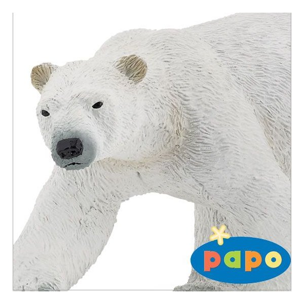 papo (パポ社) 動物フィギュア 50142 シロクマ
