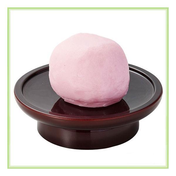 仏事用イミテーションお供え菓子 紅白上用まんじゅう 紅