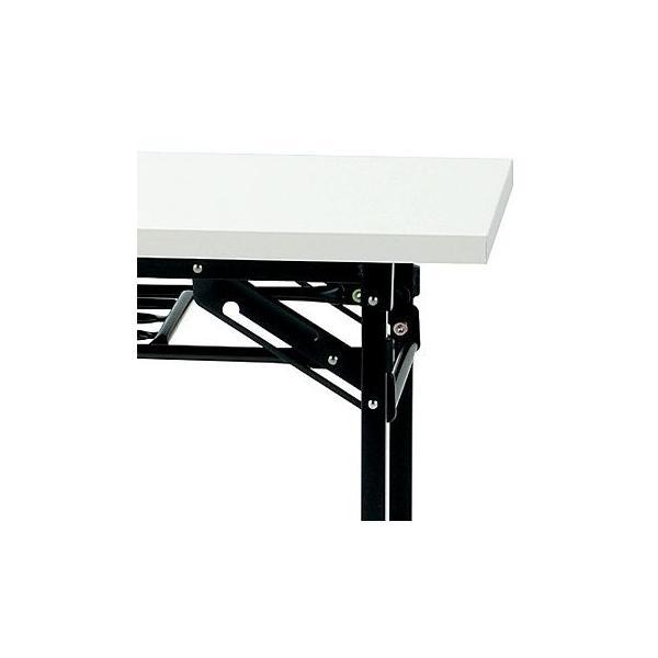 会議テーブル 折りたたみ ホワイト色 幅1800 奥行450 高700 会議用テーブル 長机 会議用 GD-251 オフィス家具|sora-ichiban|02