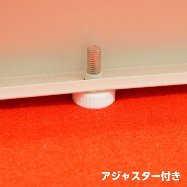 【日本製】【送料無料】 スチール製 受付 ハイカウンター W1200×D450×H960 棚付き 横連結可能  オフィス家具|sora-ichiban|04
