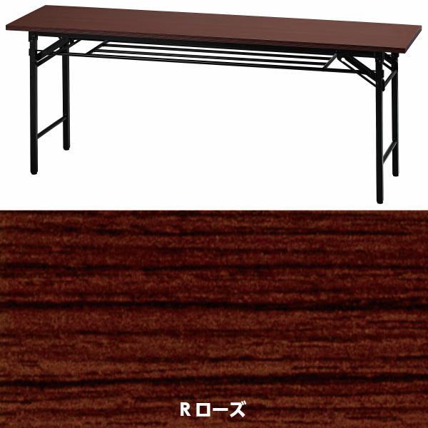 会議テーブル 折畳み 法人様限定 幅1800 奥行450 高700 会議テーブル 折りたたみテーブル 長机 会議用 オフィス家具|sora-ichiban|04