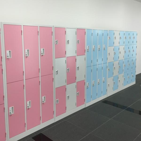 大阪市内限定搬入設置費無料 9人用 ロッカー 鍵付き ピンク色 ブルー色 9人用ロッカー スチールロッカー 更衣ロッカー オフィス家具 完成品 sora-ichiban 04
