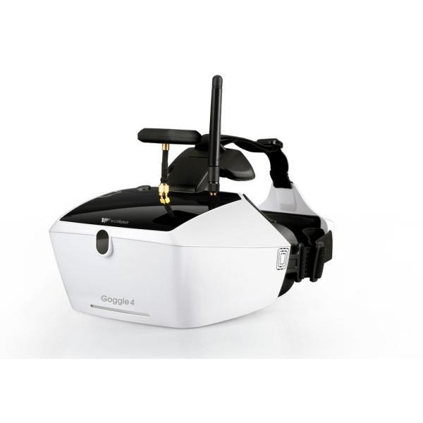 ドローン Walkera Goggle 4 5.8G 40CH 5インチ 多様性 FPV メガネ (バッテリー内蔵)