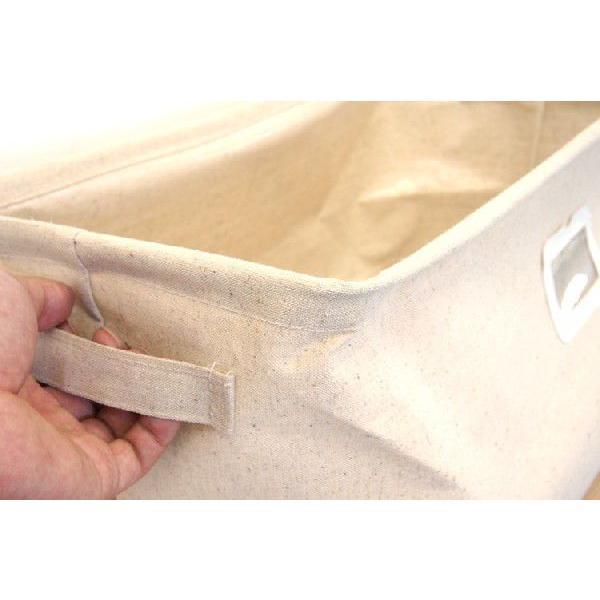 布製収納ボックス Sサイズ エマ 幅26cm ブラウン【完売】|soranew|05