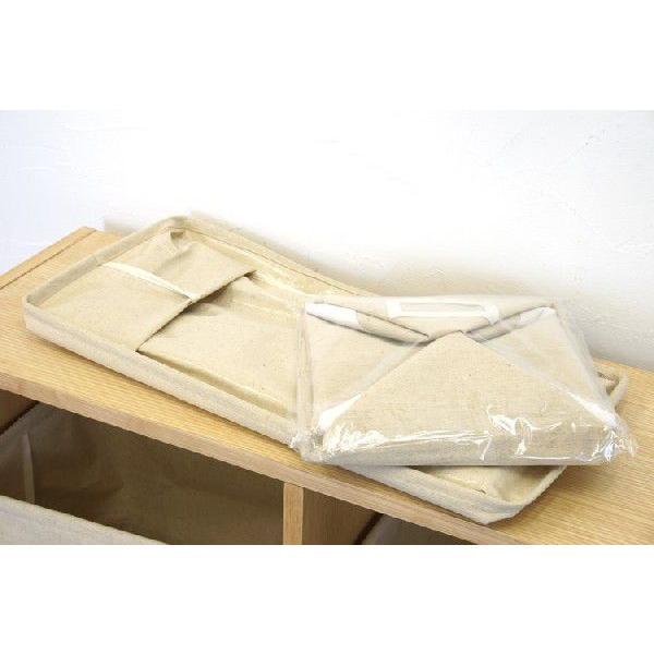 布製収納ボックス Sサイズ エマ 幅26cm ブラウン【完売】|soranew|06