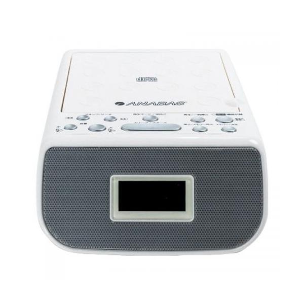 記念品・景品・大量購入の見積歓迎向けANABAS CDクロックラジオ (購入単位:1個〜) 勤続記念/周年記念に!