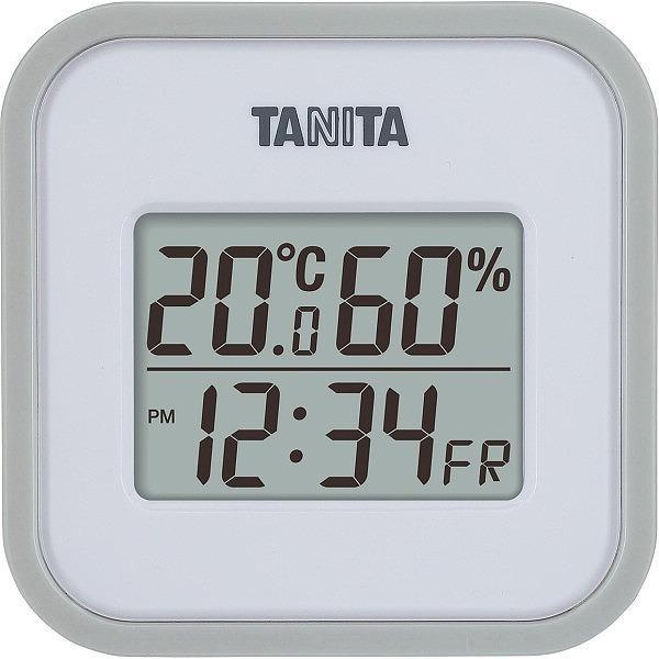 ノベルティ 記念品 タニタ デジタル温湿度計 グレー  周年記念/卒業