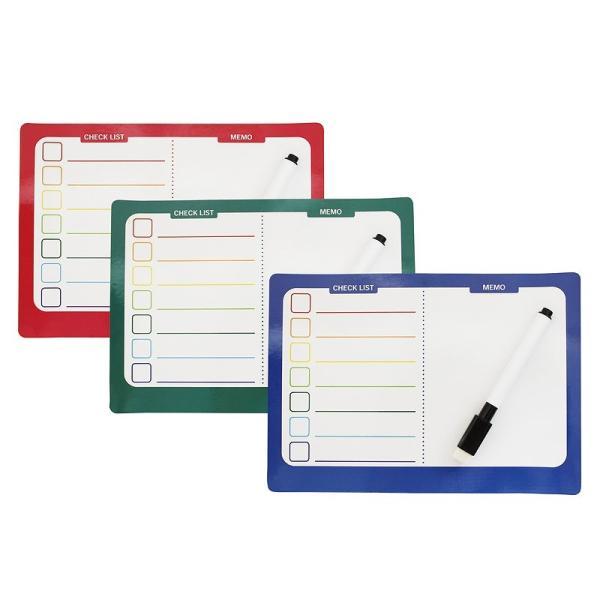ノベルティ 記念品 A5マグネットボード(ペン付)(1P)  オリジナル対応/安い