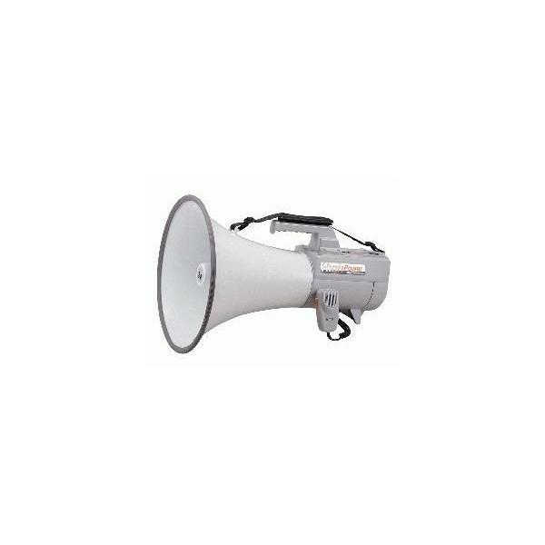 ER-2130W TOA メガホン 拡声器 ショルダー型 大型メガホン 30W ホイッスル音付 [ ER2130W ]