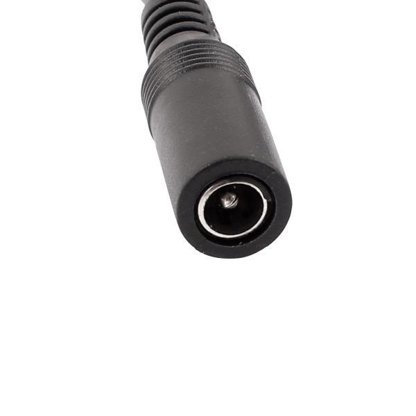 uxcell CCTVエクステンション ケーブル シングル 2M 5.5 x 2.1mm DCオス コッパー アダプター CCTVカメラ用