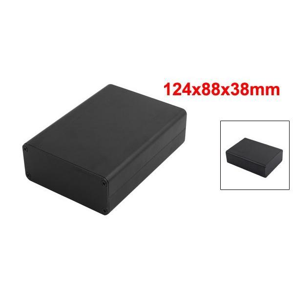 uxcell アルミ製ボックス ジャンクションボックス 多機能 124mmx88mmx38mm 多機能