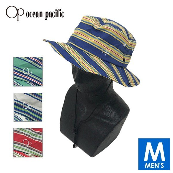 OP(OCEAN PACIFIC) オーシャンパシフィック メンズ サーフハット(サンシェード付き) 519917【帽子 マリンハット 水着 紫外線防止 海水浴 水泳 夏用】