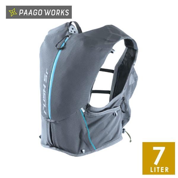 PaaGo WORKS パーゴワークス RUSH5r(ラッシュ5r) メンズ・レディース リュック・ザック・バックパック(7L) 【トレイルランニング ジョギング 通勤 自転車 リュッ
