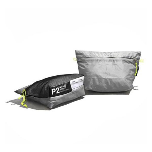 PaaGo WORKS パーゴワークス W-FACE POUCH 2 日常から非日常まで365日使えるスタッフバッグ・ポーチ(2L) 【トレイルランニング キャンプ ハイキング アウトドア